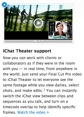 iChat Theater